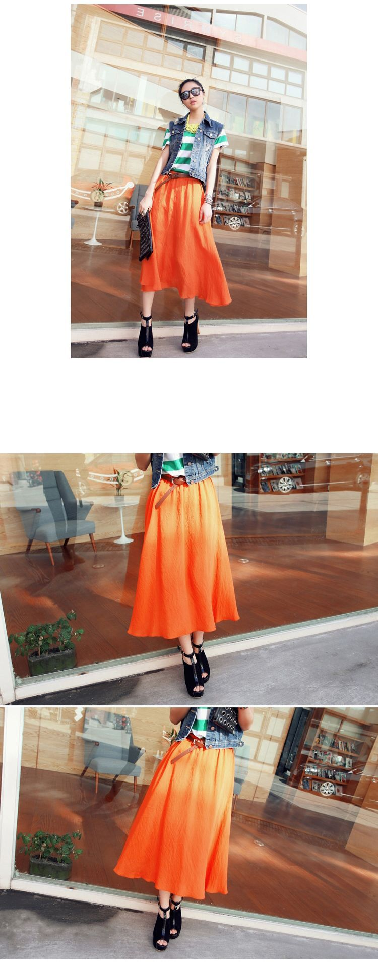 DRESS KOREA - ROK CHIFFON KOREA