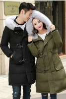 (GREEN-1Pc) JAKET BULU UNISEX - JAKET COUPLE