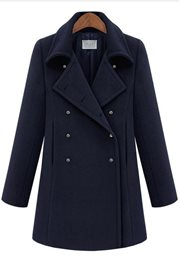 JAKET MUSIM DINGIN - Korean Long Coat