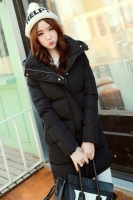 JAKET WANITA KOREA - Black Winter Coat