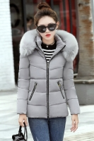 JAKET HOODIE BULU MUSIM DINGIN - LONG COAT IMPORT KOREA STYLE GRAY