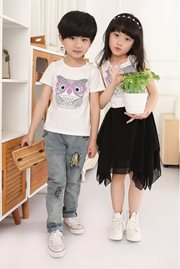 BAJU KOREA ANAK - Black Girl Dress