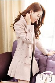 JAKET MUSIM DINGIN - Pink Winter Coat