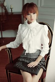 BLOUSE KOREA STYLE - Elegant Satin Blouse