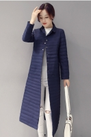 LONG COAT KOREA � JAKET DOWN COAT MUSIM DINGIN - Navy Down Coat