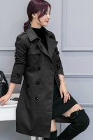 LONG COAT WANITA - Black Long Blazer