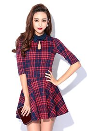DRESS CANTIK KOREA - Classic 2PCs Dress