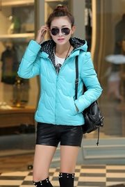 JAKET MUSIM DINGIN - Blue Padded Jacket