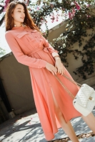 DRESS CANTIK WANITA KOREA - Salem Chiffon Dress