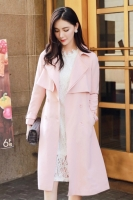 BLAZER WANITA KOREA - Pink Korean Long